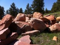 Round sandstone Boulders