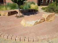 Mixed material Hardscaping