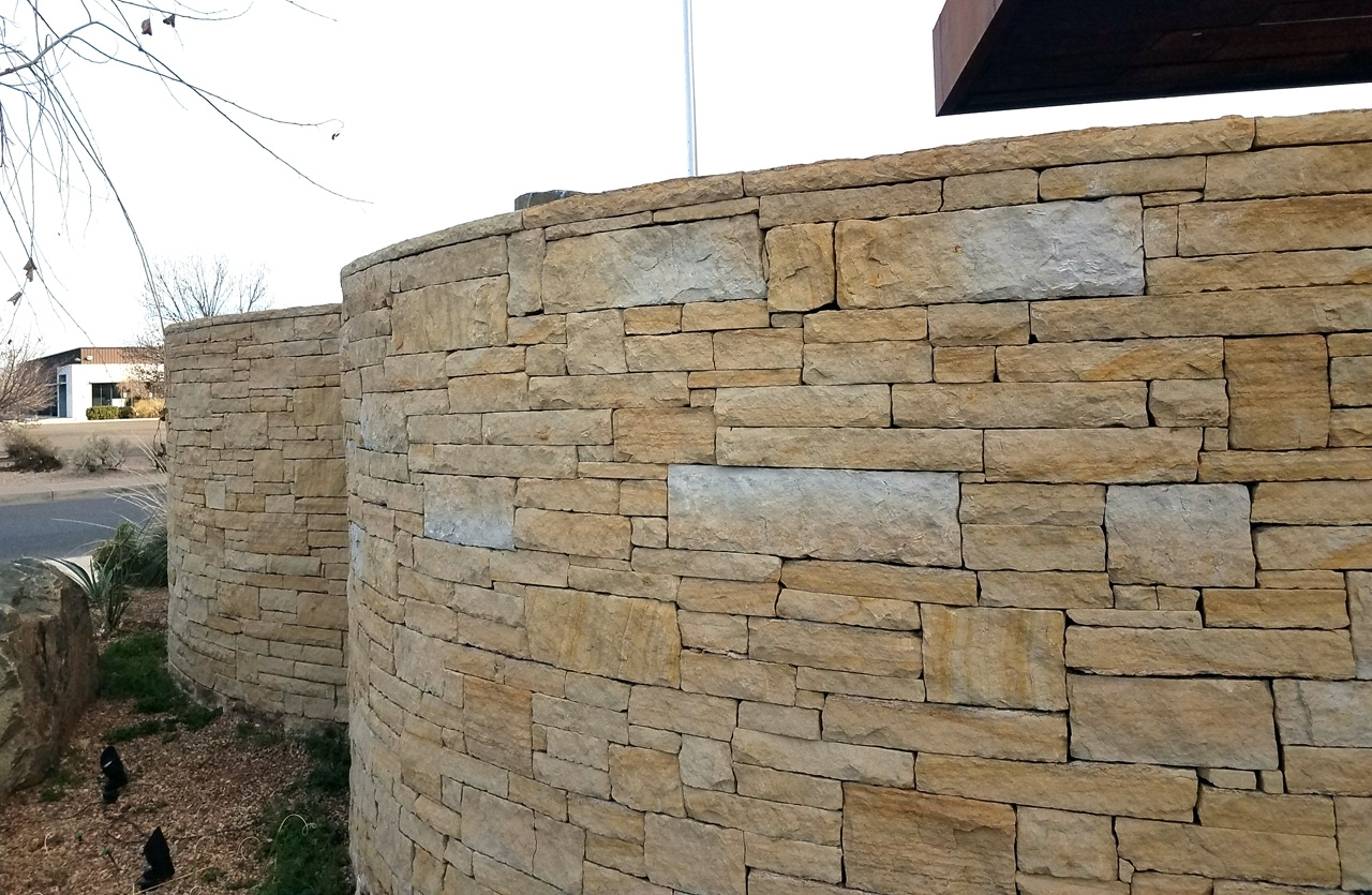 Dry Stack Wall